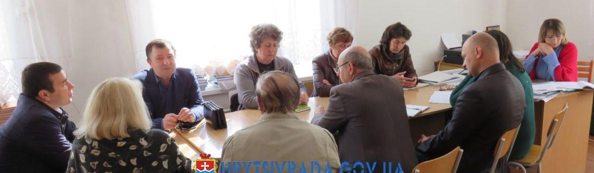 Засідання з відбору претендентів на призначення стипендії (премії) обдарованим дітям та винагороду педагогічним працівникам Грицівської ОТГ