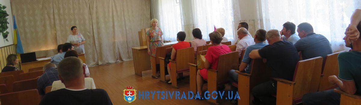 Відбулася дев᾽ятнадцята позачергова сесія Грицівської селищної ради