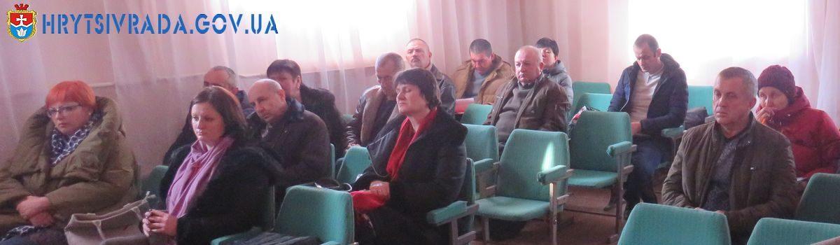 Відбулася двадцять четверта позачергова сесія Грицівської селищної ради