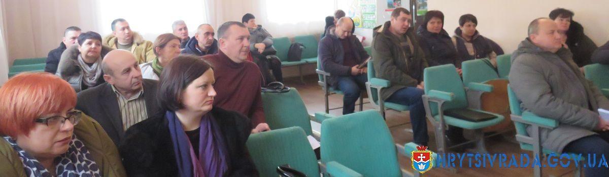 Відбулася двадцять п᾽ята позачергова сесія Грицівської селищної ради
