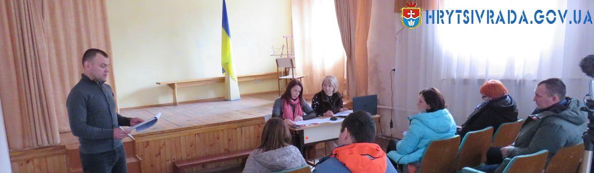 Відбулася двадцять сьома позачергова сесія Грицівської селищної ради