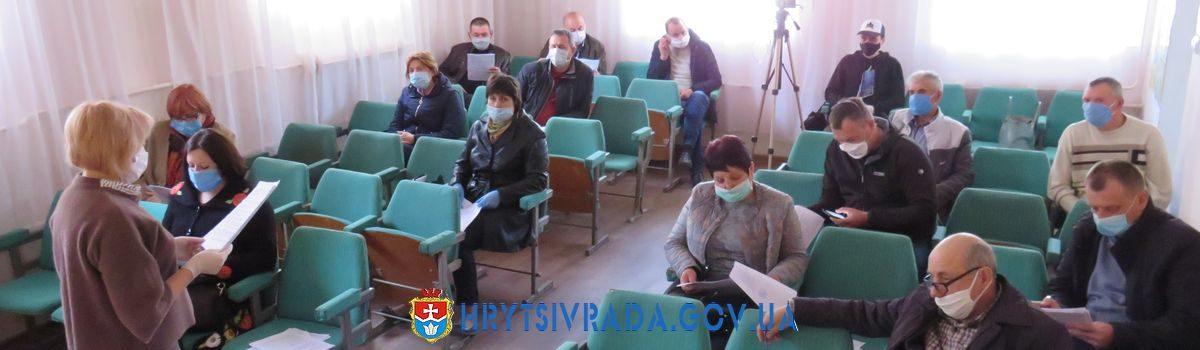 Відбулася двадцять восьма позачергова сесія Грицівської селищної ради