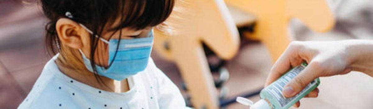 МОЗ не давало рекомендацій щодо носіння масок дітьми у дитячих садках