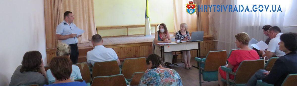 Відбулася тридцять перша позачергова сесія Грицівської селищної ради