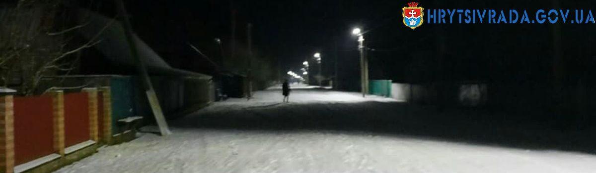 Відновлено нічне освітлення вулиць
