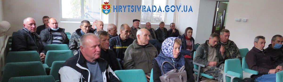 Проведено навчання для кочегарів та операторів котелень Грицівської територіальної громади